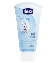 Chicco Natural Sensation Liquid Talc - 100 ml
