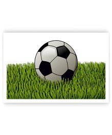 Ambbi Collections Table Mat Football Printed Green - Pack of 6