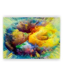 Ambbi Collections Table Mat Abstract Print Multi Color - Pack of 6