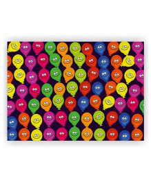 Ambbi Collections Table Mat Balloons Print Multi Color - Pack of 6
