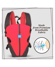Mee Mee Lightweight Breathable Baby Carrier MM-C 17A - Red