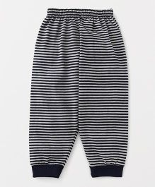 Ollypop Full Length Striped Lounge Pant - Navy Blue