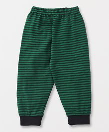 Ollypop Full Length Striped Lounge Pant - Green