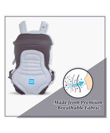 Mee Mee 6 Position Premium Baby Carrier MM-C 14A - Black Grey