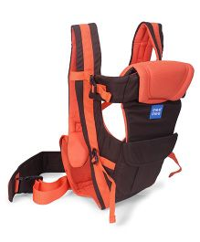 Mee Mee Lightweight Breathable 4 Way Baby Carrier MM-C 25A - Orange