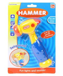 Playmate Musical Hammer - Yellow And Blue