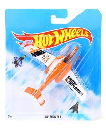 Hot Wheels Snow Ex-P Airplane Model Toy - Orange