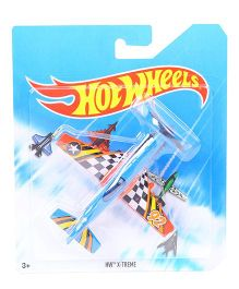 Hot Wheels HW X-Treme Airplane Model Toy - Blue