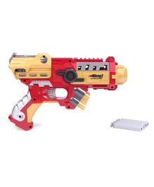 Bang Prinio Gun Toy Gun With Soft Bullets - Golden Red