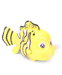 Playmate Wind Up Fish Toy - Yellow