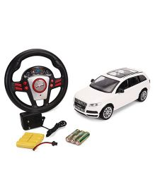Mitashi Dash Audi Q7 Remote Control Car - White