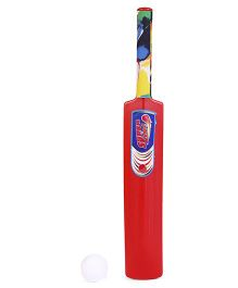 Ankit Toys Cricket Bat And Ball Set - Red