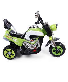 Battery Operated Bike Ride-On - Green & Black