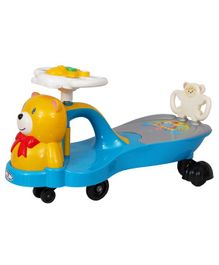 HLX-NMC Teddy Magic Swing Car - Blue