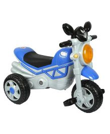 EZ Playmates Smart Musical Tricycle - Blue & Grey
