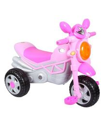 EZ Playmates Smart Musical Tricycle - Pink & Grey