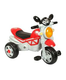 EZ Playmates Smart Musical Tricycle - Red & Grey
