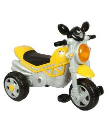 EZ Playmates Smart Musical Tricycle - Yellow & Grey