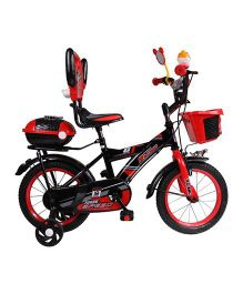 HLX-NMC Bowtie Kids Bicycle Black Red - 16 inches