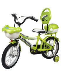 Cosmic Bicycle Force 10 Series Green - 16 inches