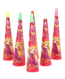 Disney Princess Paper Hooters Pack Of 6 - Pink