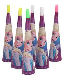 Disney Frozen Paper Hooters Pack Of 6 - Multicolor
