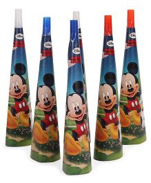 Disney Mickey Mouse Paper Hooters Pack Of 6 - Multicolor