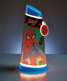 Disney Spider-Man Motion Activated Tilt Night Lamp Torch - Multi Color