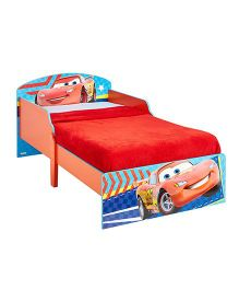 Disney Cars Toddler Bed - Red