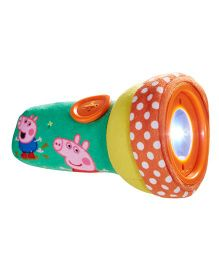 Peppa Pig Go Glow Soft & Squichy Torch - Multicolor