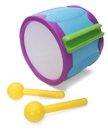 Little Tikes Tap A Tune Drum - Blue Yellow