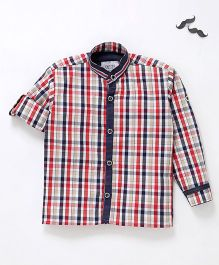 Knotty Kids Checked Shirt - Multicolor