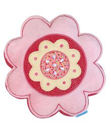 Abracadabra Flower Shape Cushion - Pink