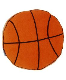 Abracadabra Basketball Shape Cushion - Orange