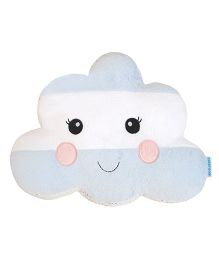 Abracadabra Cloud Shape Cushion - Blue & White