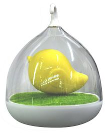 Abracadabra LED Bird Cage Night Lamp - Yellow