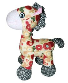 Abracadabra Giraffe Soft Toy Multi Color - 21 cm
