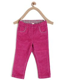 Bella Moda Solid Color Denim - Pink