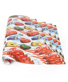 Disney Pixar Cars Gift Wrapper Code-003 Multi Color - 5 Wrappers