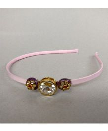 Tiny Closet Hair Band - Baby Pink & Purple