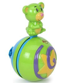 Mitashi Skykidz Roly Poly Musical Ball - Green