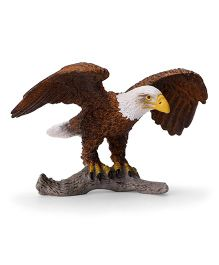 Schleich Bald Eagle Figure - Brown