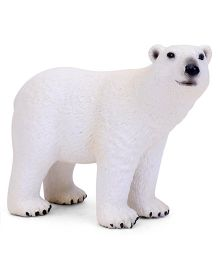 Schleich Polar Bear Figure White - 10.5 cm