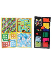 Ratnas Delux Quality Business 5 In 1 Game - Multicolor