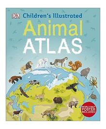 Children's Illustrated Animal Atlas by DK - English