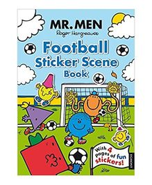 Mr Men Football Sticker Scene Book by Roger Hargreaves - English