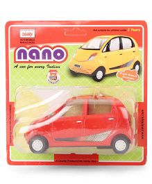 Centy Die Cast Miniature Nano Pull Back Toy Car - Red