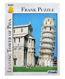 Frank Leaning Tower of Pisa Puzzle - 500 Pieces