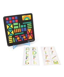 Ratnas Fun With Magnetic Shapes Type 2 - 58 Pieces