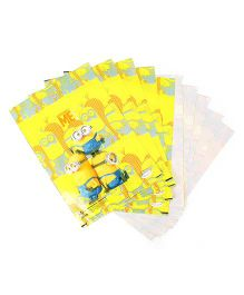 Minions Small Loot Bags Yellow - Pack Of 10